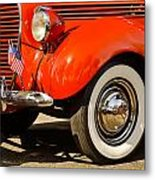 Patriotic Car Metal Print