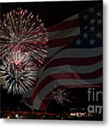 Patriotic Metal Print by Dianne Phelps
