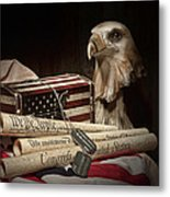 Patriotism Metal Print by Tom Mc Nemar