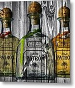 Patron Barn Door Metal Print
