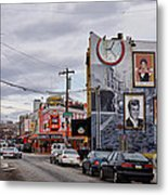 Pat's And Geno's 2 Metal Print