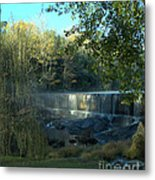 Patsiliga Creek Falls Metal Print
