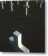 Pattern Of Modern Dying Metal Print