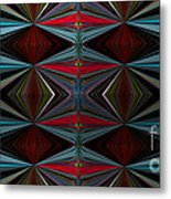 Patterned Abstract 2 Metal Print