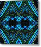 Patterned Art Prints - Cool Change - By Sharon Cummings Metal Print