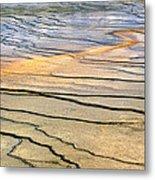Patterns At Yellowstone #1 Metal Print