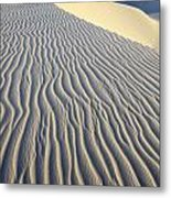 Patterns In The Sand Brazil Metal Print