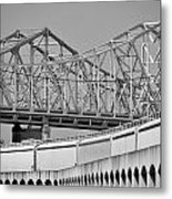 Patterns On The River Metal Print