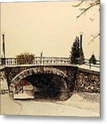 Patterson Creek Bridge Metal Print