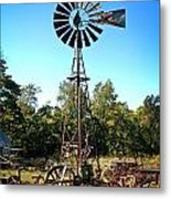 Patterson Windmill Metal Print by Marty Koch
