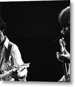 Paul And Mick Are Bad Company Metal Print
