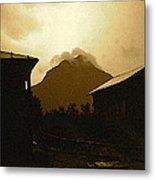 Paul Cezanne Homage Golden Gate Peak Old Tucson 1967-2009 Metal Print