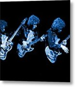 Paul Harwood Of Mahogany Rush Plays The Blues Metal Print