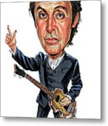 Paul Mccartney Metal Print by Art