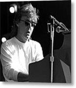Paul Mccartney - Magical Piano Metal Print