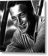 Paul Newman Metal Print