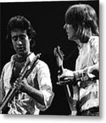 Paul And Mick In Spokane 1977 Metal Print