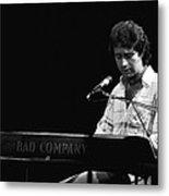 Paul At The Keyboard In Spokane 1977 Metal Print