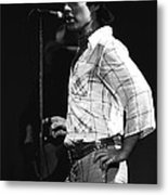 Paul Of Bad Company In 1977 Metal Print