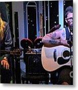 Paul Stephen Wilson And Jj Roetting Duet Metal Print by Shawn Lyte