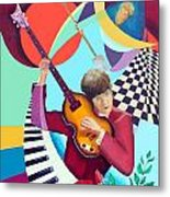 Paul With Out  Numbers Metal Print