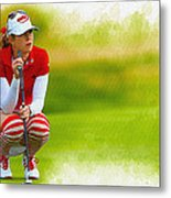 Paula Creamer - The Ricoh Women British Open Metal Print