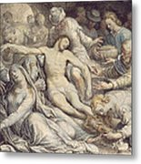The Lamentation Over The Dead Metal Print