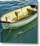 Pea-green Boat Metal Print