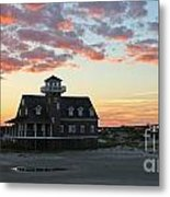 Oregon Inlet Life Saving Station 2693 Metal Print