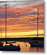 Peace At Days End Metal Print