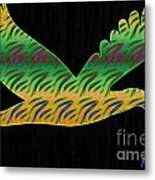Peace Birds Metal Print
