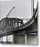 Peace Bridge 00a  Metal Print
