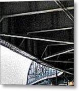 Peace Bridge 00e Metal Print
