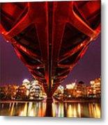 Peace Bridge 2 Metal Print