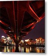 Peace Bridge  Metal Print
