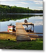 Peace Easy Metal Print by RJ Martens