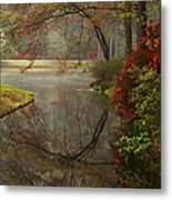 Peace In A Garden Metal Print