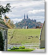 Peace In The Country  Metal Print