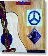 Peace - Music Metal Print