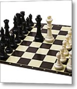 Peace Negotiations At The Summit Level - Featured 3 Metal Print