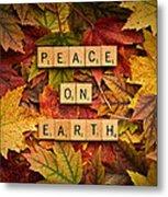 Peace On Earth-autumn Metal Print
