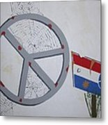 Peace Sells But Who's Buying Metal Print