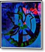 Peace Series 6 Metal Print