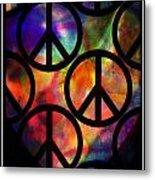 Peace Series Viii Metal Print
