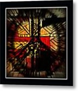 Peace Series Xx Metal Print