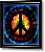 Peace Series Xxiii Metal Print