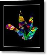 Peace Series Xxvi Metal Print