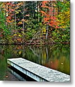 Peaceful Autumn Day Metal Print