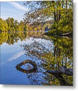 Peaceful Autumn Metal Print
