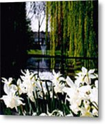 Peaceful Canal Metal Print